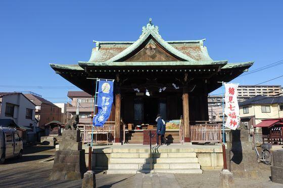 横浜熊野神社 社殿