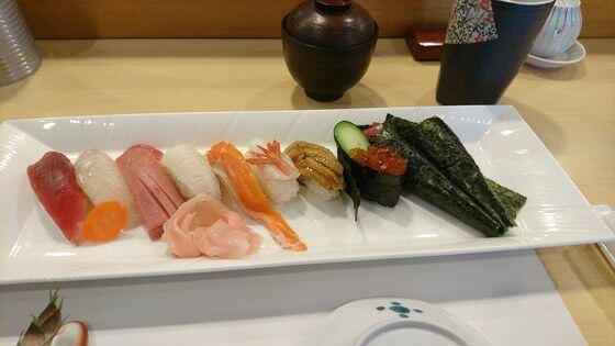 渋沢駅 寿司