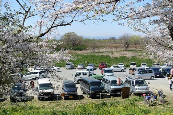 城ヶ谷堤 駐車場