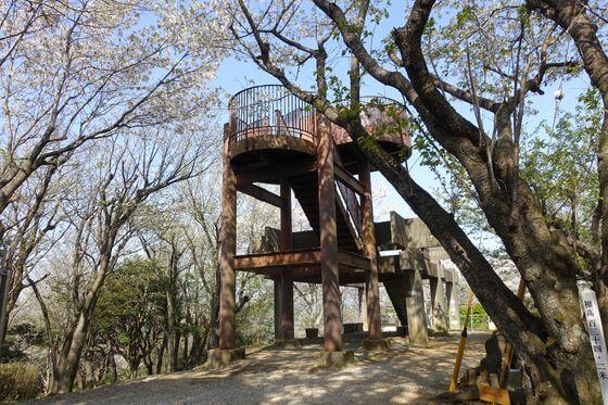 衣笠山公園 展望台