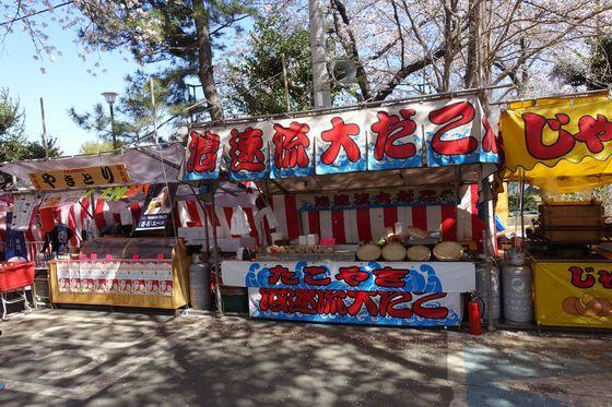 熊谷さくら祭 屋台
