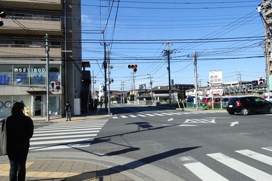 熊谷駅南口交差点