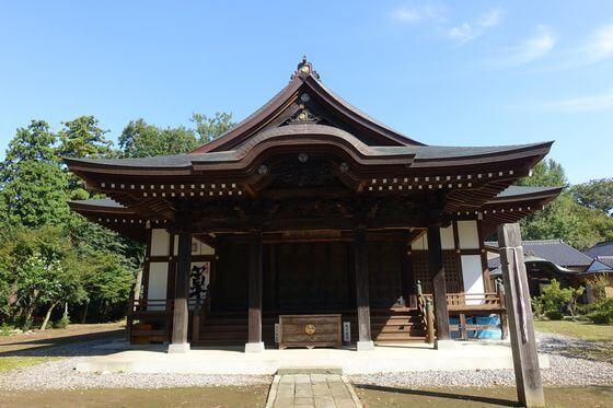 弘経寺 常総市 本堂