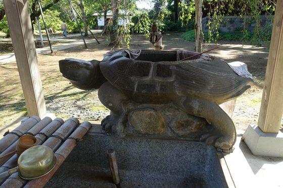 弘経寺 常総市 手水舎