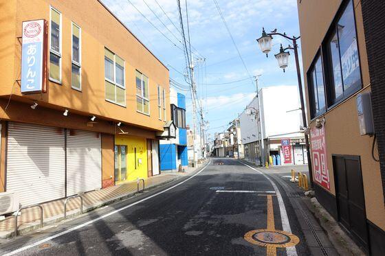 水海道 駅通り商店街