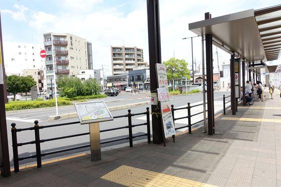 東村山駅 西口