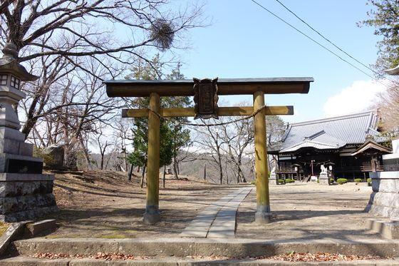 小諸鹿嶋神社 境内
