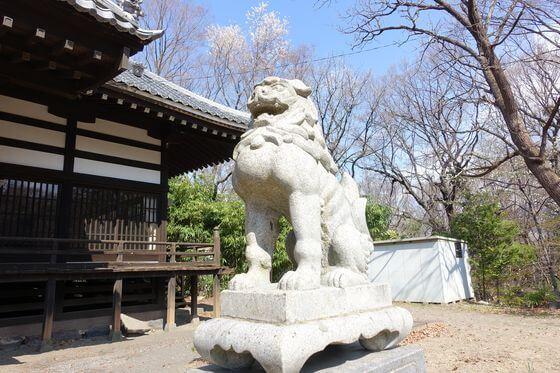 狛犬 小諸鹿嶋神社