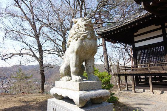 小諸鹿嶋神社 狛犬