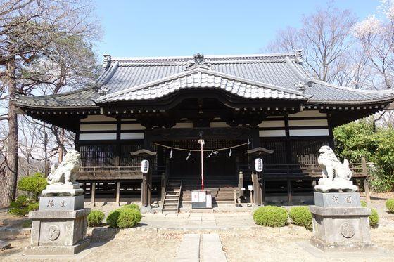 小諸鹿嶋神社 社殿