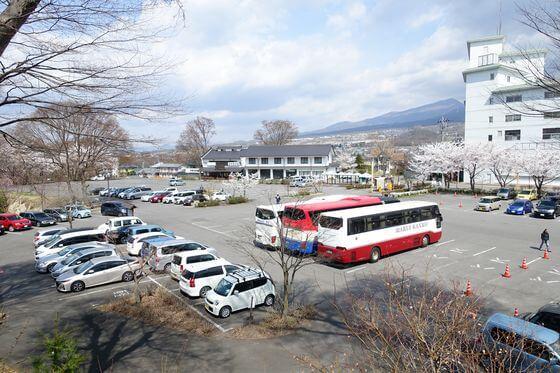 懐古園 駐車場