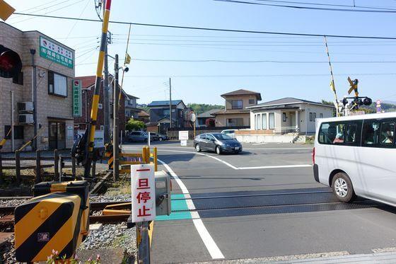 川奈駅 踏切