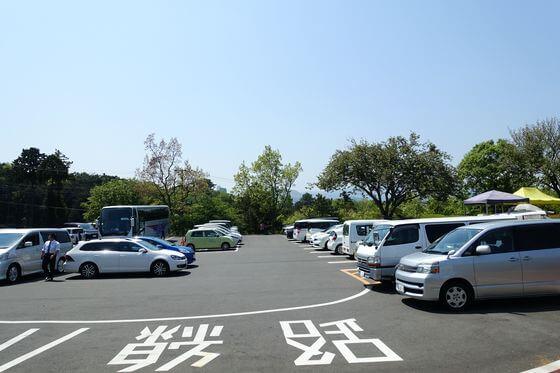 小室山公園 駐車場
