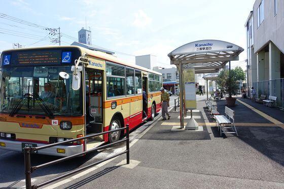 二宮駅 北口 バス