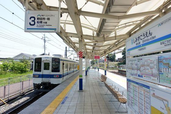 清水公園 野田 電車
