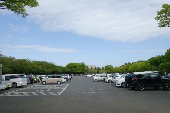 館林つつじが岡第二公園 駐車場