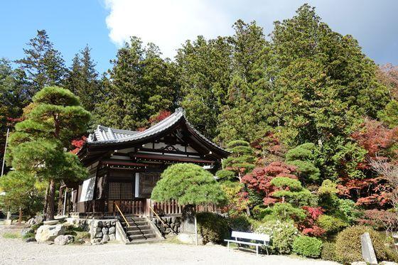 宝登山神社 記念館 紅葉
