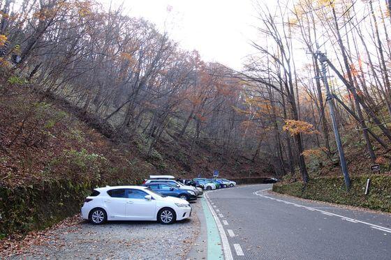 白糸の滝 軽井沢 駐車場