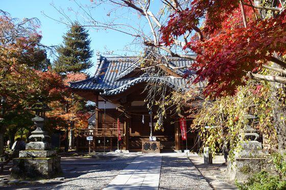 懐古神社 紅葉