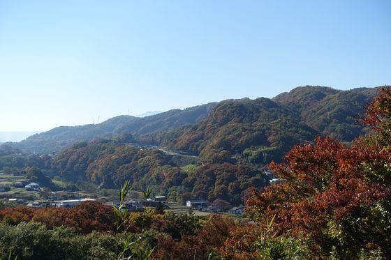 懐古園 富士見台 紅葉