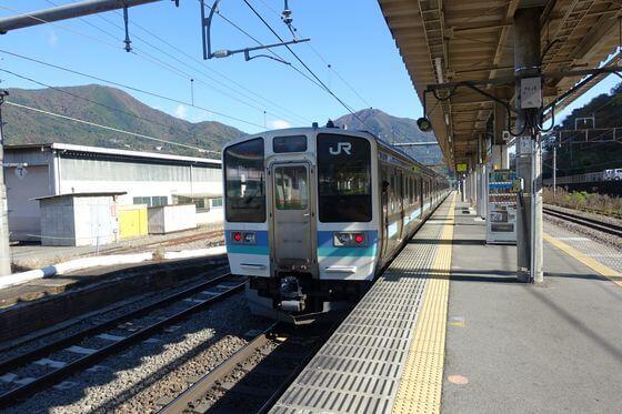 猿橋 電車