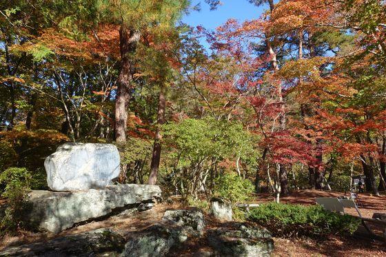 長瀞 月の石もみじ公園 紅葉