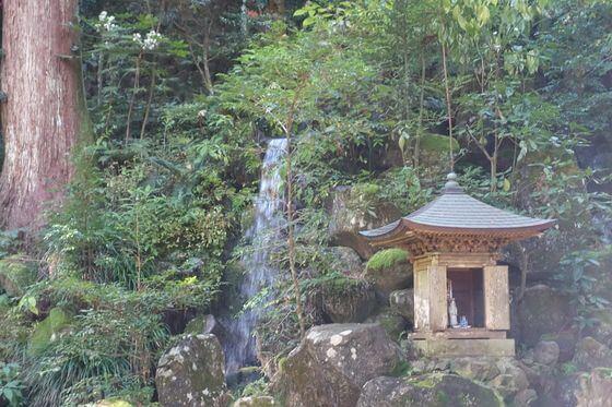 最乗寺 清心の滝