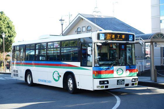 大雄山駅 最乗寺 バス