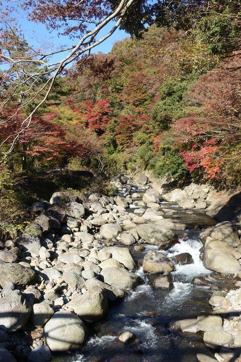 早川渓谷遊歩道