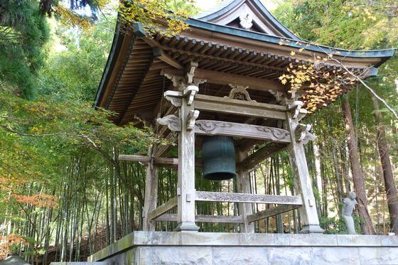 箱根 長安寺 鐘楼堂