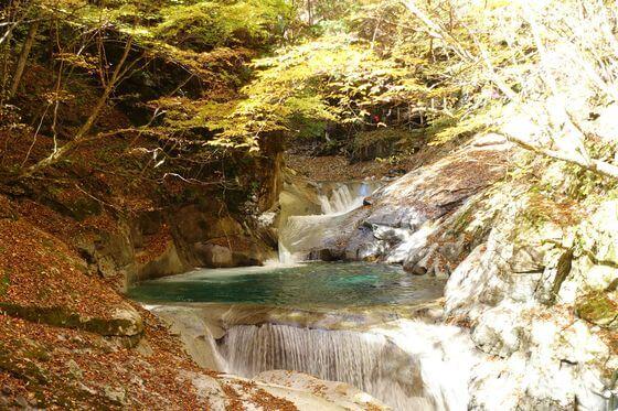 三重の滝 山梨