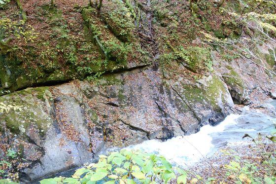 ウナギの床 西沢渓谷