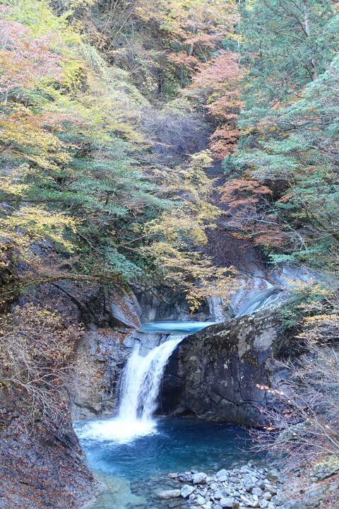 竜神の滝 西沢渓谷