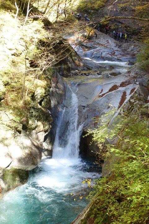 貞泉の滝 山梨