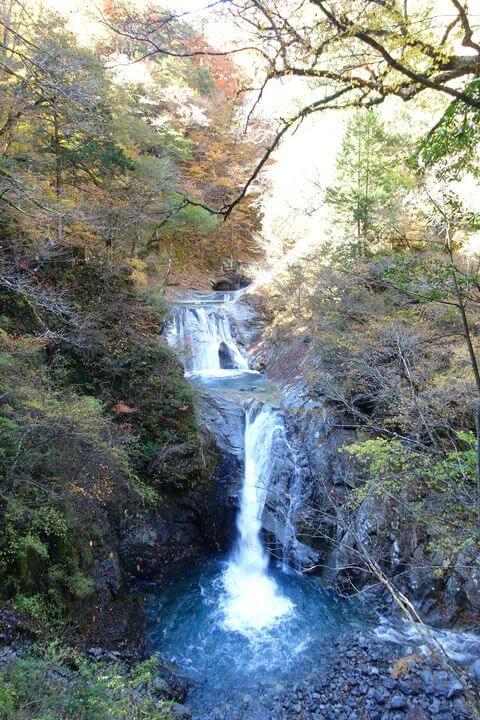 七ツ釜五段の滝 山梨