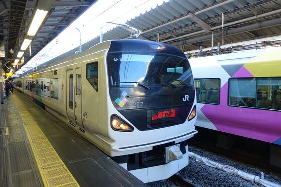 新宿駅 西沢渓谷
