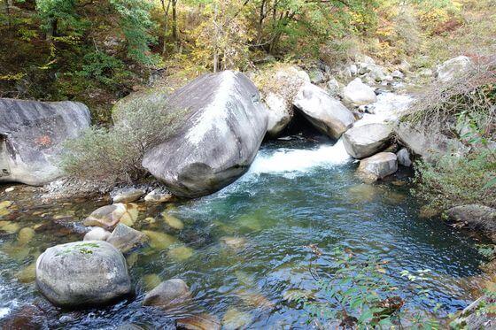 ふぐ石 昇仙峡