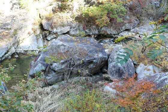 亀石 昇仙峡