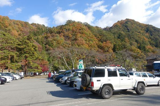 昇仙峡 駐車場