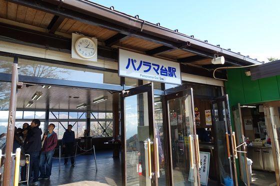 パノラマ台駅 昇仙峡ロープウェイ