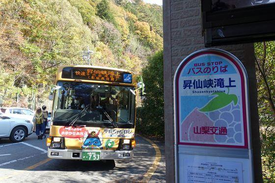 昇仙峡ロープウェイ アクセス