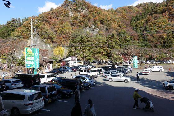 昇仙峡ロープウェイ 駐車場