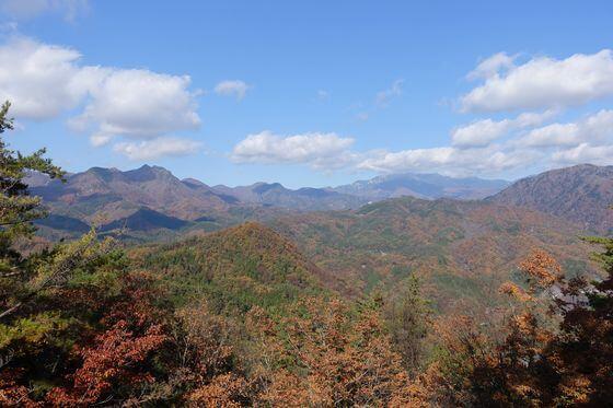 昇仙峡 山頂 紅葉