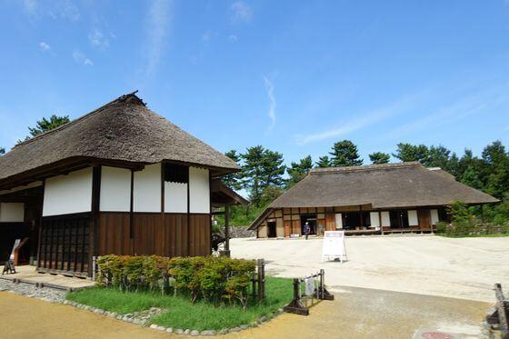 昭和記念公園 こもれびの里 農家