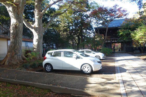 東漸寺 松戸 駐車場
