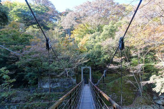 堂ヶ島渓谷遊歩道 桜橋