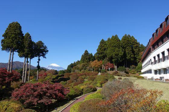 山のホテル 紅葉
