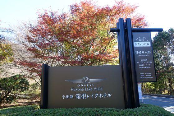 箱根レイクホテル 紅葉