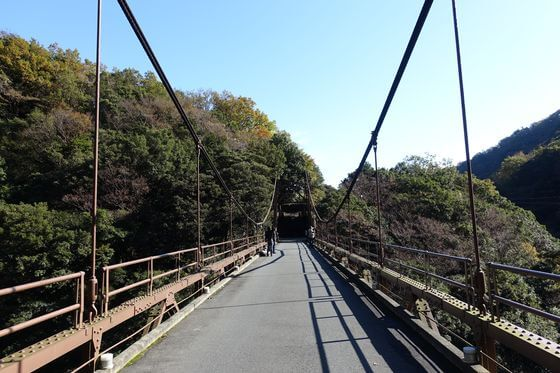 金乃竹塔ノ澤吊り橋 塔ノ澤橋