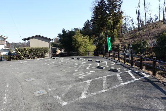 梅の公園 駐車場